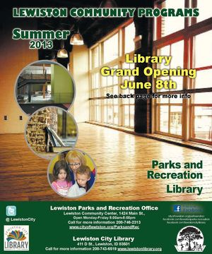 2013 Summer Lewiston Community Programs
