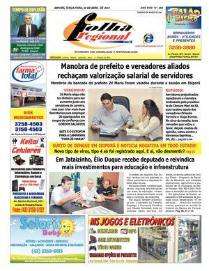 FOLHA REGIONAL - 30 de Abril de 2013 - Edição 293