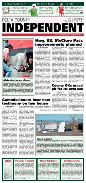 Delta County Independent, May 8, 2013