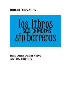 ANTON CHEJOV HISTORIA DE MI VIDA