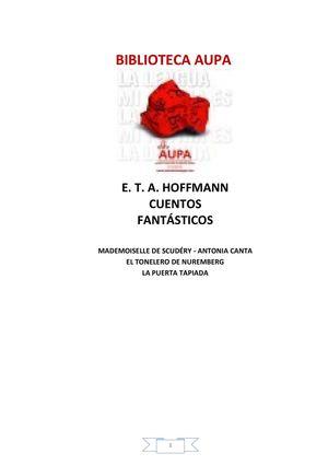 Hoffmann Ernesto T A - Cuentos Fantasticos