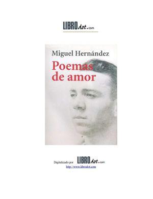 Hernandez Miguel - Poemas De Amor [doc]