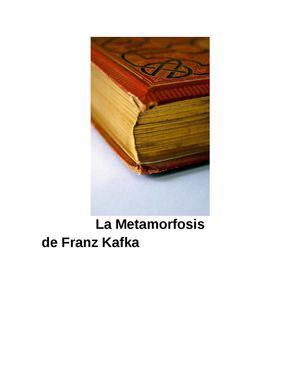 Kafka Franz - La Metamorfosis