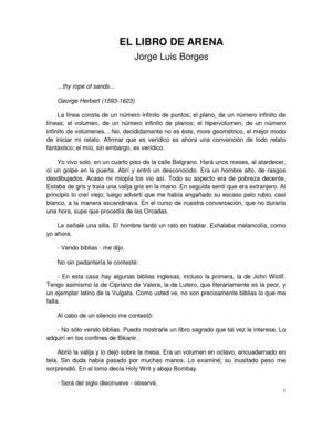 Jorge Luis Borges - El libro de arena