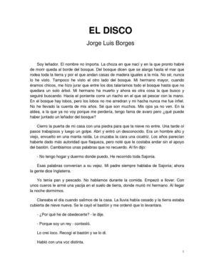 Jorge Luis Borges - El disco
