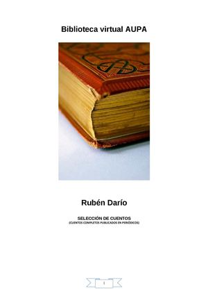 RUBÉN DARIO CUENTOS