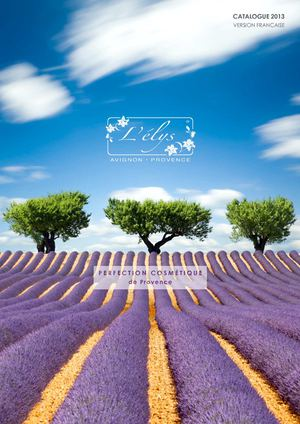 Catalogue L'élys (VF): PERFECTION COSMETIQUES de Provence