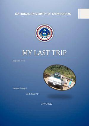 my last trip
