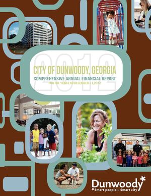 City of Dunwoody 2012 Comprehensive Annual Financial Report