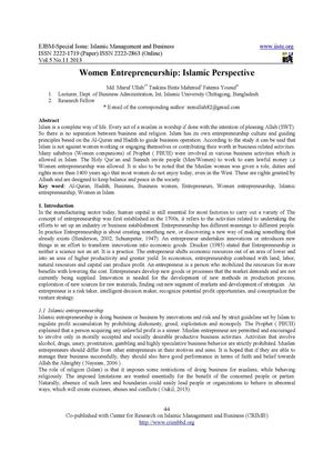 women entrepreneurship research papers Essays - largest database of quality sample essays and research papers on women entrepreneurship in bihar.