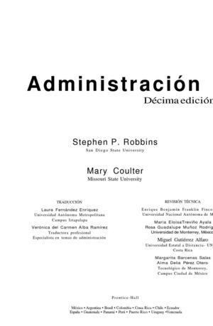 Calaméo - Administración - Stephen Robbins y Mary Coulter - photo#5