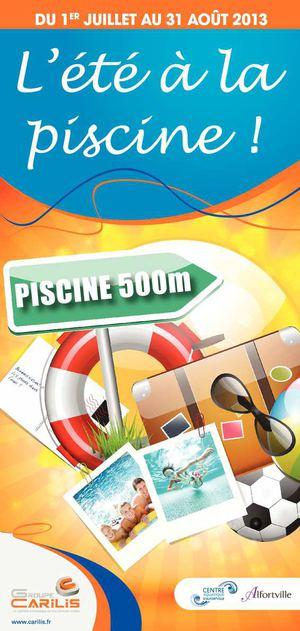 Calam o centre aquatique alfortville horaires d 39 t 2013 for Piscine alfortville