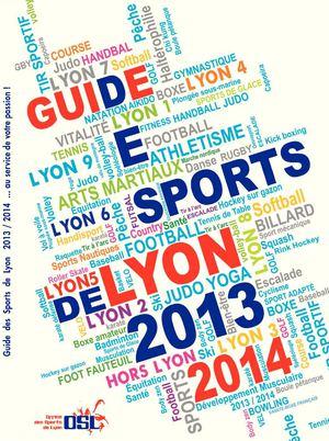 Calam o guide des sports de la ville de lyon 2013 2014 - Office des sports de lyon ...