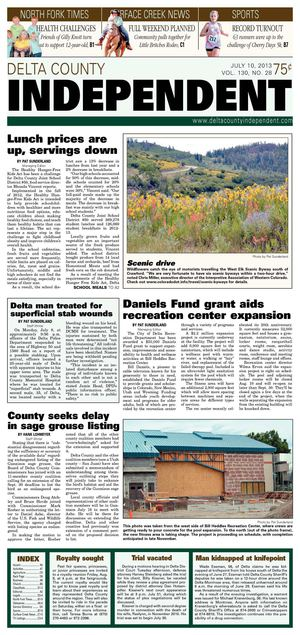Delta County Independent, July 10, 2013