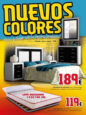 Calam o mueble hogar milenium catalogo oferta hasta 15 08 13 for Muebles milenium catalogo