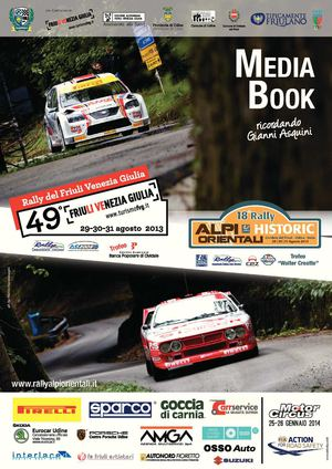 MEDIA BOOK 49. RALLY DEL FRIULI VENEZIA GIULIA_ENGLISH