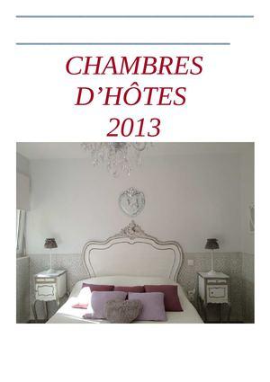 calam o chambres d 39 h tes et locations 2013. Black Bedroom Furniture Sets. Home Design Ideas