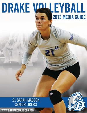 2013 Drake Volleyball Media Guide