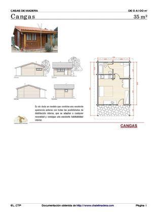Calam o planos de caba as de madera - Planos de cabanas de madera ...