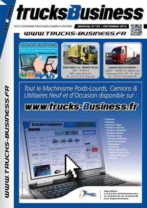 TRUCKS BUSINESS N°136 - Septembre 2013