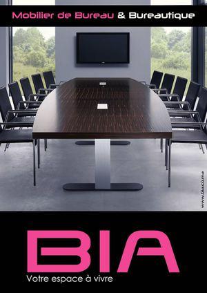 Calam o catalogue bia mobilier de bureau 2013 - Catalogue mobilier de bureau ...