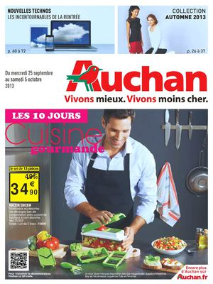 Cookeo 100 recettes 7 modes de cuisson auchan - Carte de fidelite auchan fr ...