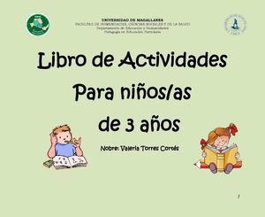 Calam o libro de actividades para ni os as de 3 a os - Dormitorios infantiles ninos 3 anos ...