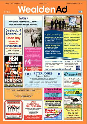 Wealden Advertiser 11/11/2013