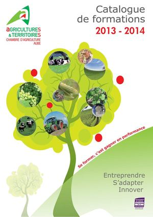 Calam o catalogues de formations 2013 2014 - Chambre agriculture aube ...