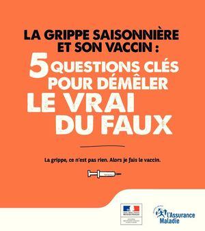 calam o brochure info vaccin contre la grippe. Black Bedroom Furniture Sets. Home Design Ideas