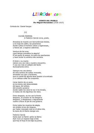 MIGUEL HERNÁNDEZ viento del pueblo
