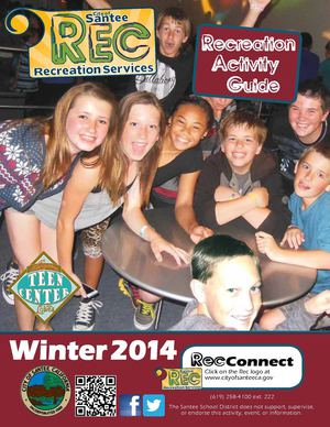 City of Santee Recreation Guide Winter 2014