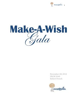 how to plan a fundraising gala
