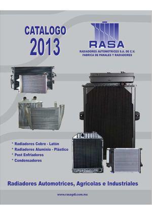 Calam o catalogo rasa 2013 nov for Catalogo de radiadores