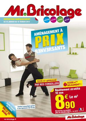 Calam o mr bricolage catalogue am nagement 2014 48 pages - Mr bricolage porte coulissante ...
