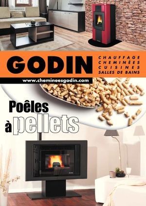 calam o catalogue po le pellets chemin e boursaux godin 55. Black Bedroom Furniture Sets. Home Design Ideas