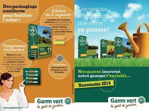 Calam o gamm vert gazons for Gazon artificiel gamm vert