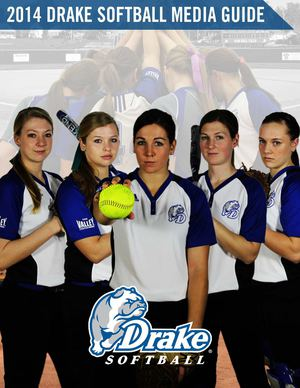 2014 Drake Softball Media Guide