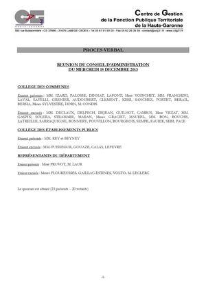 calam o proc s verbal du conseil d 39 administration du cdg 31 s ance du 28 janvier 2014. Black Bedroom Furniture Sets. Home Design Ideas