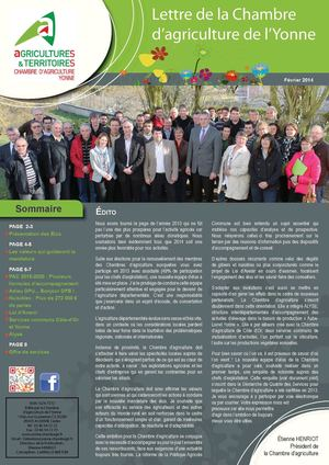 Calam o lettre chambre f vrier 2014 - Chambre d agriculture 14 ...