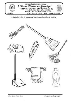 Calam o diferencia entre utiles de aseo y de limpieza for Imagenes de utiles de aseo