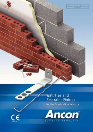 Calam 233 O Ancon Wall Ties And Restraint Fixings For Brick