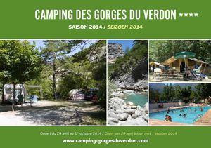 Calam o camping des gorges du verdon fr nl for Camping gorge du verdon avec piscine