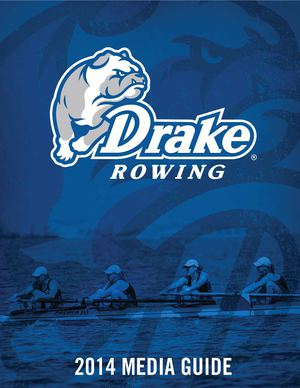 2014 Drake Rowing Guide