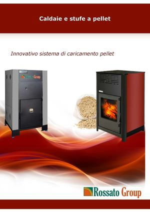 Calam o catalogo caldaie e stufe a pellet rossato group - Catalogo stufe a pellet ...
