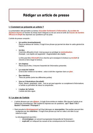 Calaméo  3è Svt  Rédiger Un Article De Presse. Sample Excuse Letter Because Of Fever. Application Letter For Employment Sample Pdf. Lebenslauf Vorlage Chronologisch. Cover Letter And Resume. Resume Help St John 39;s. Resume Objective Examples Production Worker. Resume Cv Bahasa Indonesia. Cover Letter Sample Example