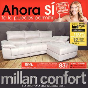 Millan confort sofas