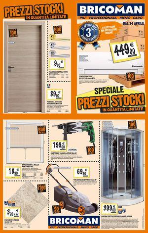 Tecnica prezzi bricoman volantino elmas for Catalogo bricoman 2015