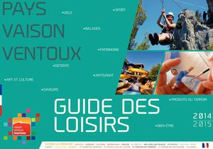 Calam o guide des loisirs 2014 office de tourisme du - Vaison la romaine office du tourisme ...