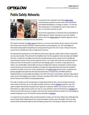 Public Safety Communications | Communication Trends